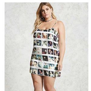 Forever 21 X Maripol Polaroid Dress